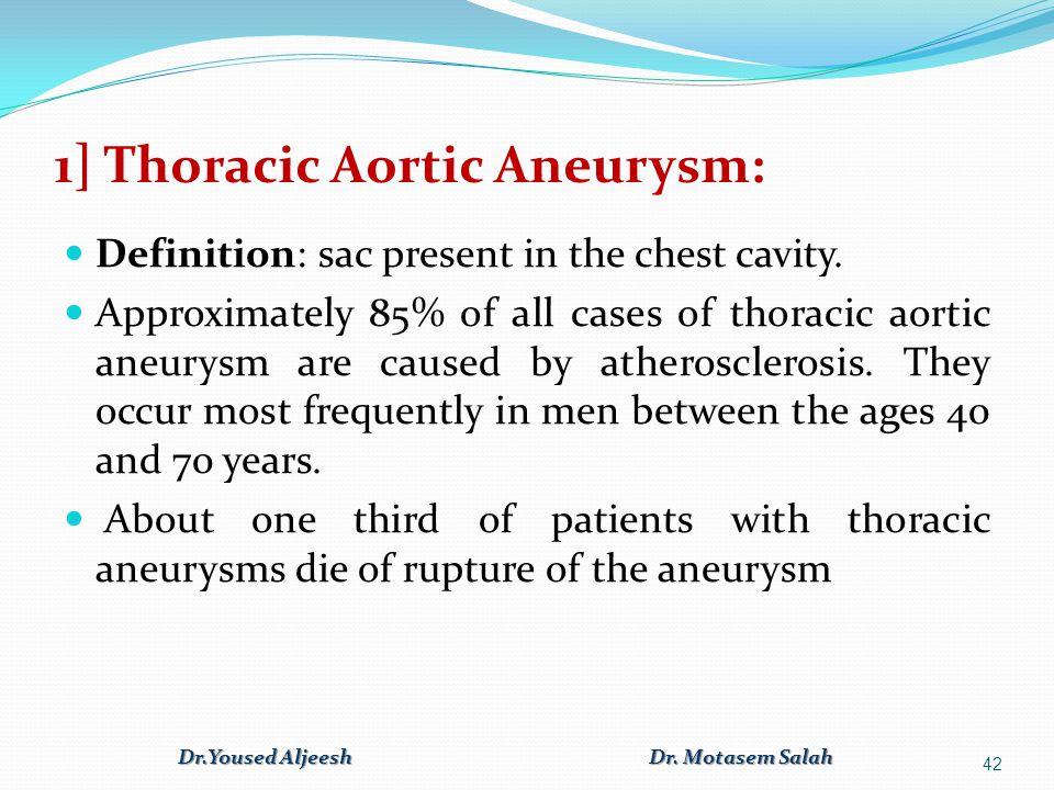 1] Thoracic Aortic Aneurysm: